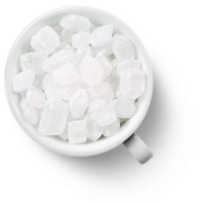 Сахар карамельный белый крупный
